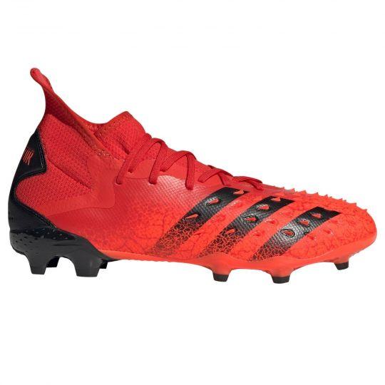 adidas Predator Freak.2 Gras Voetbalschoenen (FG) Rood Zwart Rood