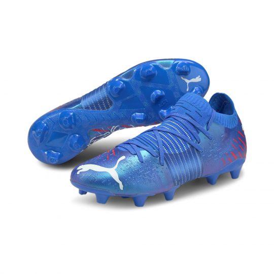 PUMA FUTURE Z 1.2 Gras / Kunstgras Voetbalschoenen (MG) Blauw Wit