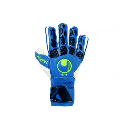 Uhlsport HYPERACT SOFT FLEX FRAME Keepershandschoenen Blauw Wit Geel