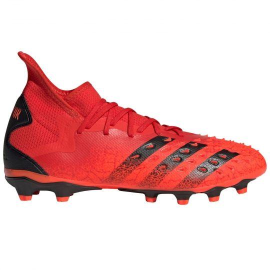 adidas Predator Freak.2 Gras / Kunstgras Voetbalschoenen (MG) Rood Zwart Rood