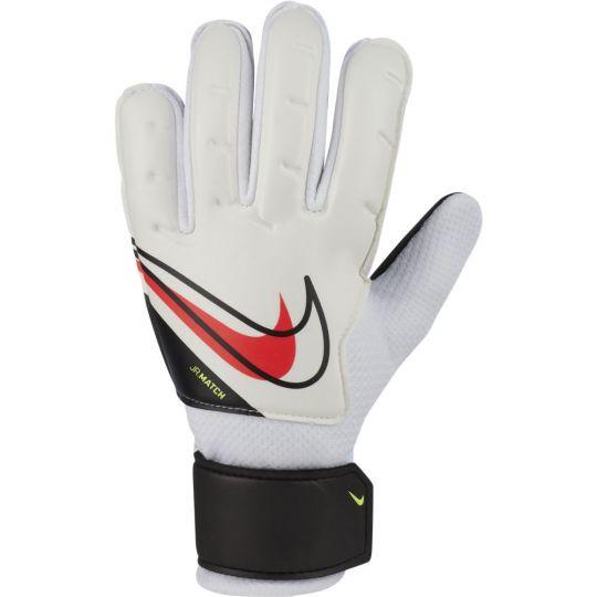 Nike Keepershandschoenen Match Kids Wit Zwart Felrood