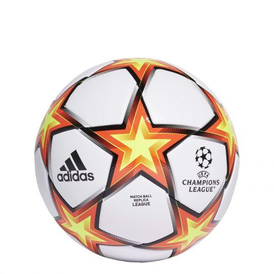 adidas Champions League Pyrostorm Voetbal Wit Geel Oranje