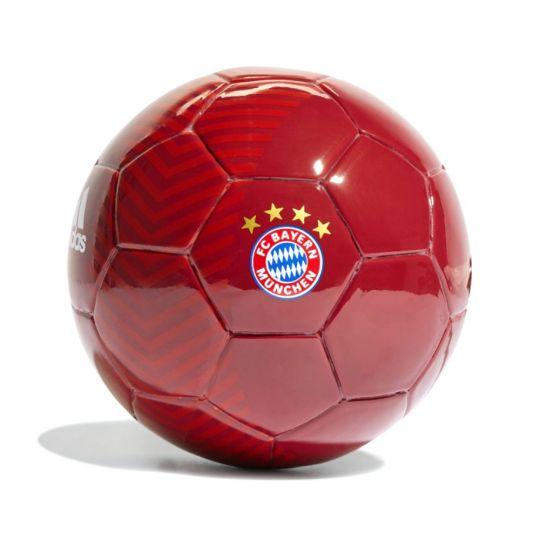 adidas Bayern Munchen Mini Voetbal Maat 1 Rood Wit