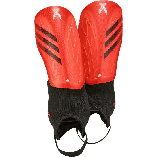 adidas X Scheenbeschermers Match Rood Zwart