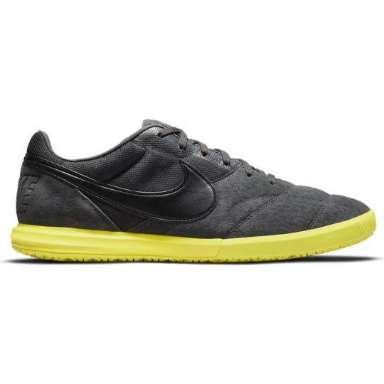 Nike Premier II Sala Zaalvoetbalschoenen Grijs Zwart Geel