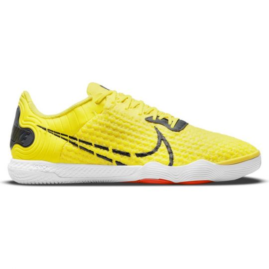 Nike ReactGato II Zaalvoetbalschoenen Geel Grijs Wit