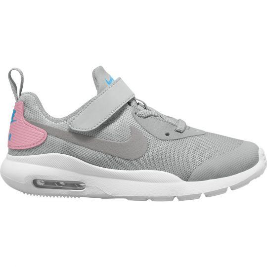 Nike Air Max Oketo Sneakers Klittenband Kids Grijs Wit