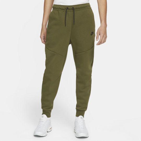 Nike Sportswear Tech Fleece Jogger Trainingsbroek Groen Zwart
