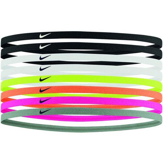 Nike Hoofdbanden 8 Stuks Zwart Wit