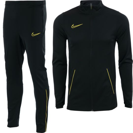 Nike Academy 21 Trainingspak Kids Zwart Goud