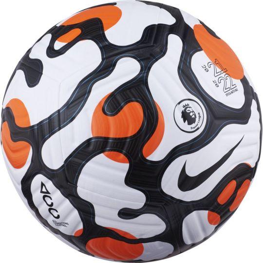 Nike Premier League Flight Voetbal Maat 5 Wit Oranje Zwart
