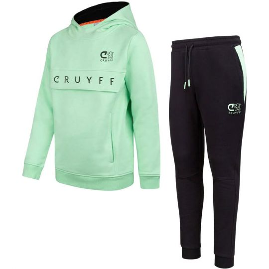 Cruyff Ranka Trainingspak Kids Mint Groen