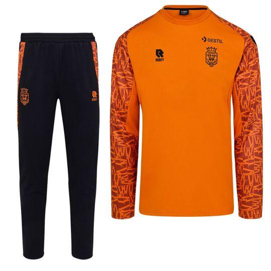 Willem II Trainingspak 2021-2022 Oranje Zwart