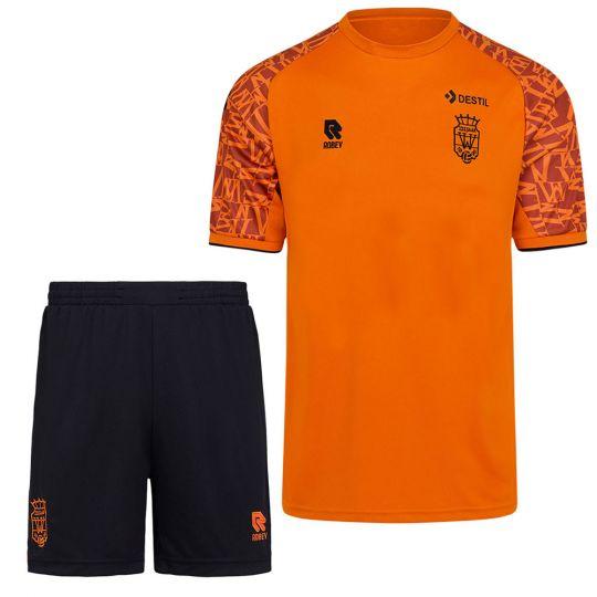 Willem II Trainingsset 2021-2022 Oranje Zwart