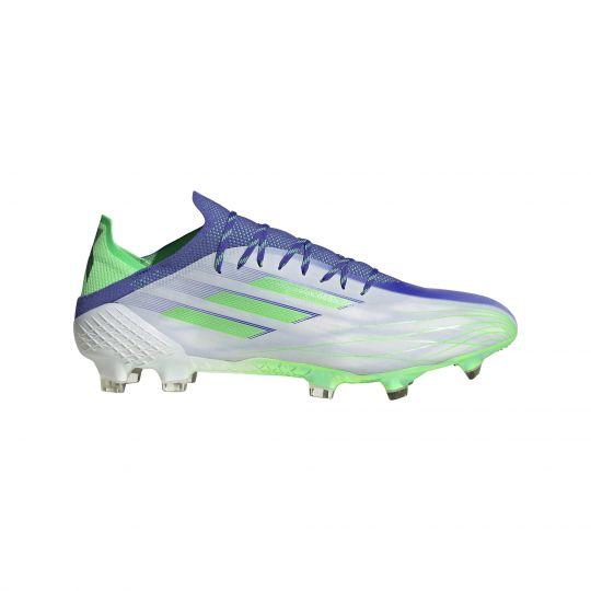 adidas X Speedflow.1 Gras Voetbalschoenen (FG) Paars Wit Groen
