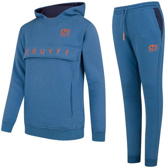 Cruyff Ranka Trainingspak Blauw