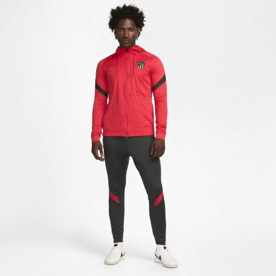Nike Atletico Madrid Strike Hoodie Trainingspak 2021-2022 Rood Groen