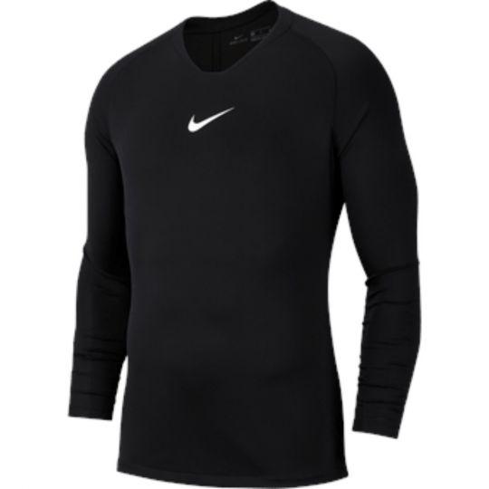 Nike Dri-FIT Park Ondershirt Lange Mouwen Zwart