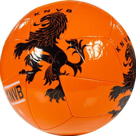 KNVB Voetbal oranje 6 panelen maat 5