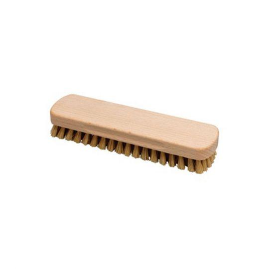Schoenenborstel 13cm hout naturel