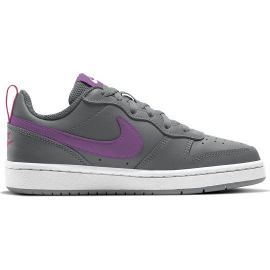 Nike Court Borough Low 2 Sneakers Kids Grijs Paars