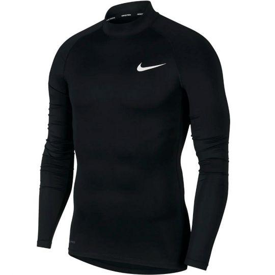 Nike Pro Ondershirt Lange Mouwen Zwart Wit