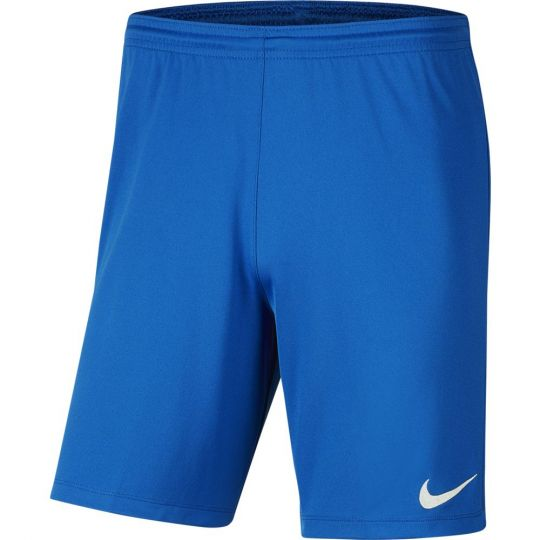 Nike Dry Park III Voetbalbroekje Kids Royal Blauw
