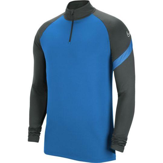Nike Dry Academy Pro Trainingstrui Blauw Antraciet