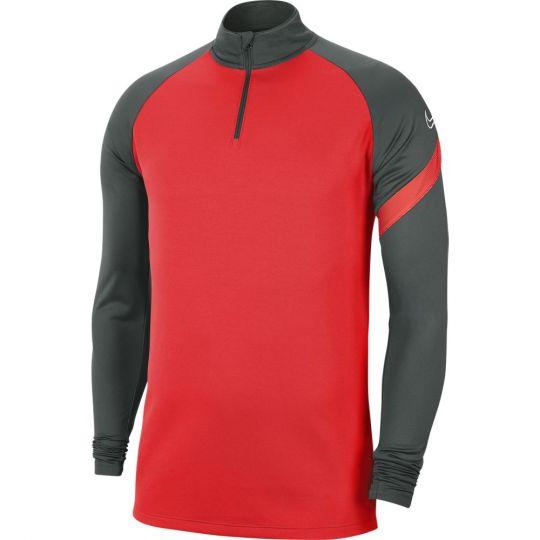 Nike Dry Academy Pro Trainingstrui Neonroze Donkergrijs