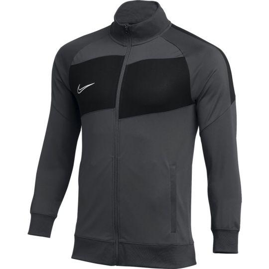 Nike Dry Academy Pro Trainingsjack Donkergrijs Zwart