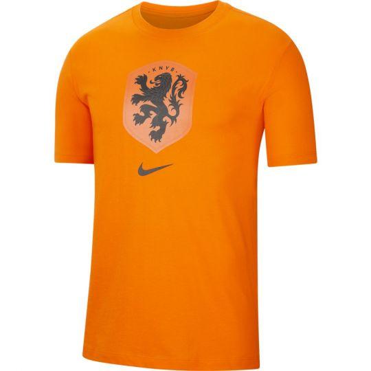 Nike Nederland T-Shirt Logo Oranje