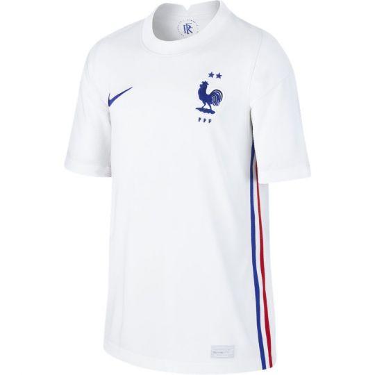 Nike Frankrijk Uitshirt 2020-2022 Kids