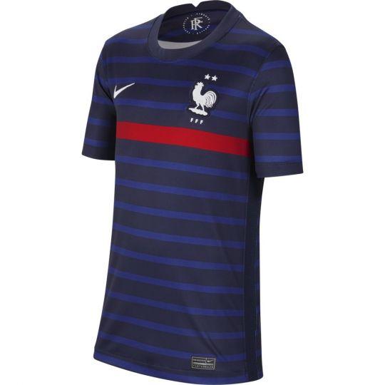 Nike Frankrijk Thuisshirt 2020-2022 Kids