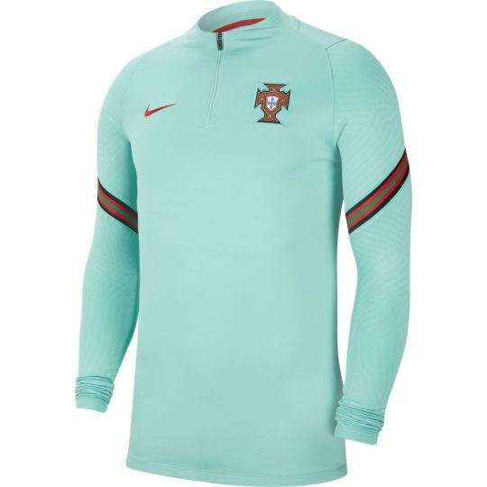 Nike Portugal Strike Trainingstrui 2020-2022 Groen