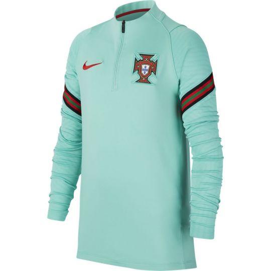 Nike Portugal Strike Trainingstrui 2020-2022 Kids Groen