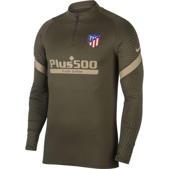 Nike Atletico Madrid Dry Strike Trainingstrui 2020-2021 Groen