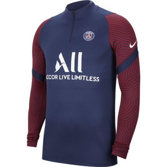Nike Paris Saint Germain Dry Strike Trainingstrui 2020-2021 Blauw