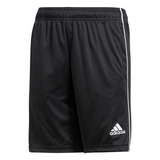 adidas CORE18 Voetbalbroekje Kids Black White