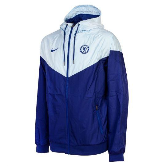 Nike Chelsea Authentic Windrunner 2020-2021 Kobaltblauw Blauw