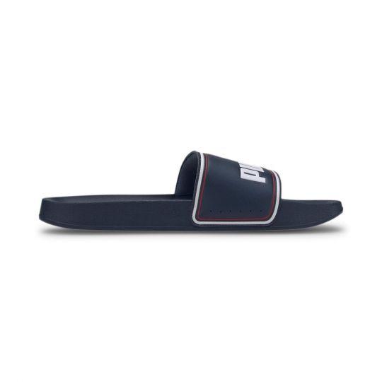 PUMA LEADCAT Slippers Donkerblauw