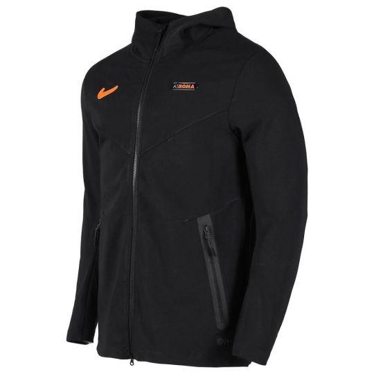 Nike AS Roma Tech Fleece Pack Hoodie FZ CL 2020-2021 Zwart