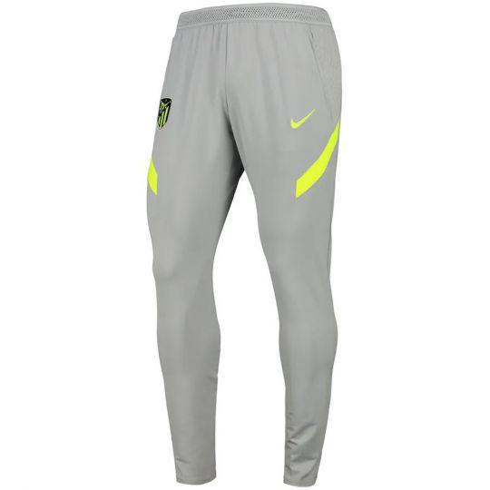 Nike Atletico Madrid Dry Strike Trainingsbroek KP 2020-2021 Lichtgrijs Geel