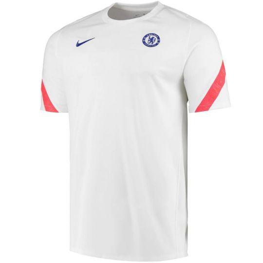 Nike Chelsea Strike Trainingsshirt 2020-2021 Wit