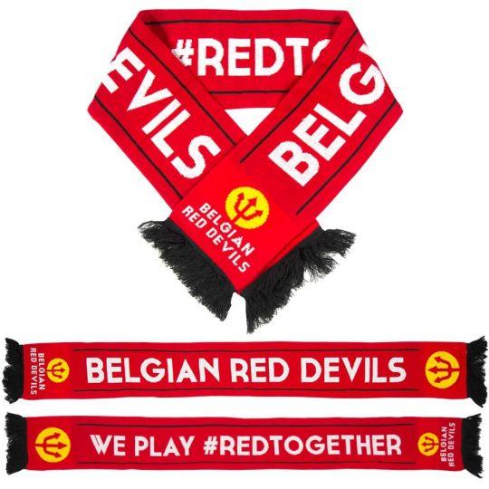 RBFA België Luxe Sjaal Rood
