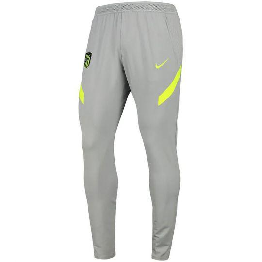Nike Atletico Madrid Dry Strike Trainingsbroek KP 2020-2021 Kids Grijs Geel