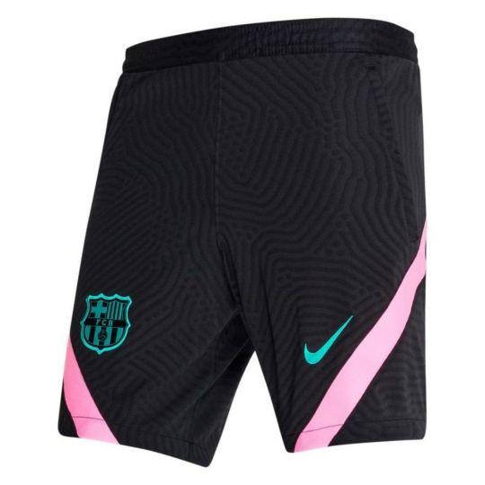 Nike FC Barcelona Dry Strike Trainingsbroekje 2020-2021 KZ Kids Zwart
