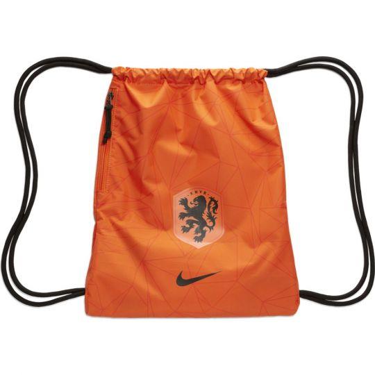 Nike Nederland Gymtas Oranje Zwart