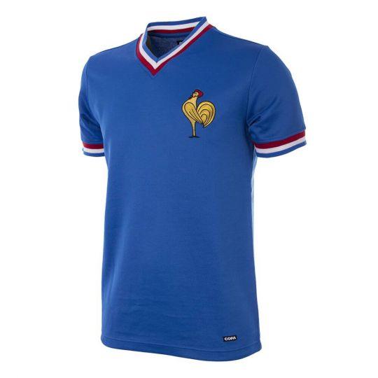 Frankrijk 1971 Retro Voetbal Shirt