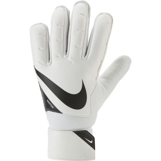 Nike Match Keepershandschoenen Wit Zwart Wit