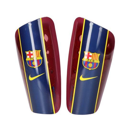 Nike FC Barcelona Mercurial Lite Scheenbeschermer Donkerrood Blauw